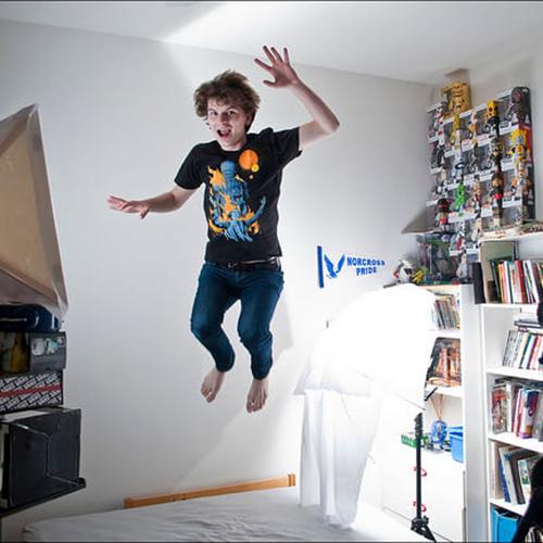 habitacion de streamer y youtuber