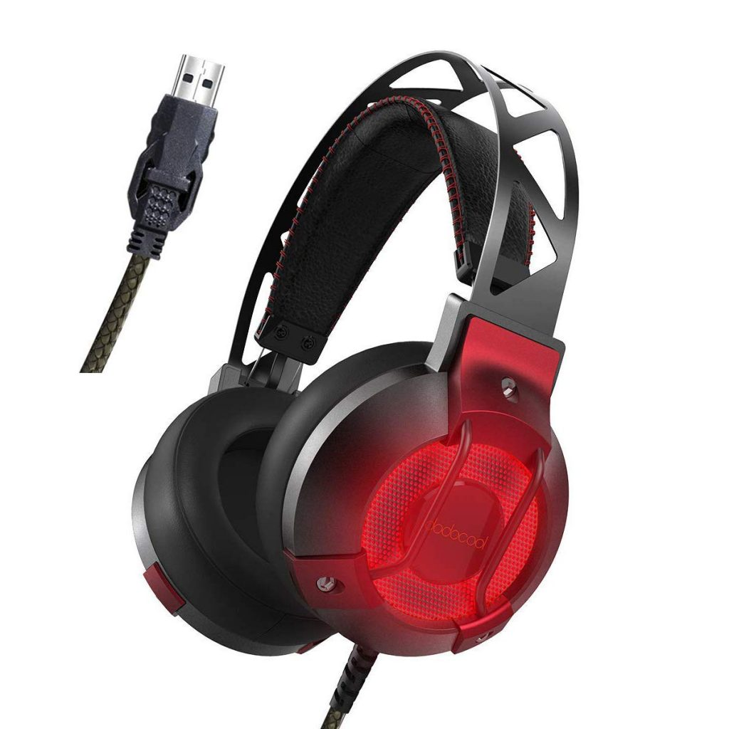 cascos digitales USB de youtuber