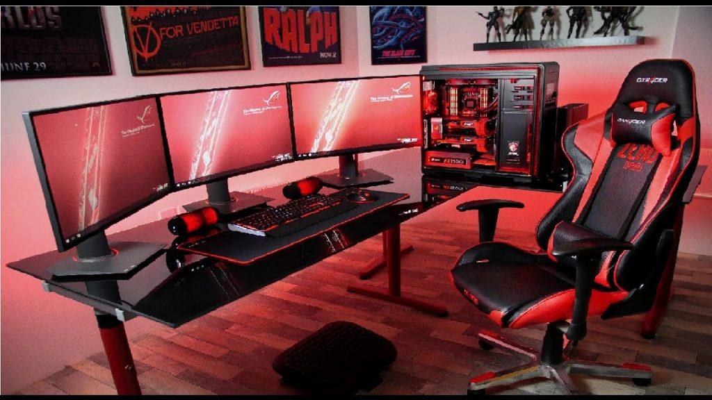 habitacion-gaming-con-silla dxracer-gc-r58
