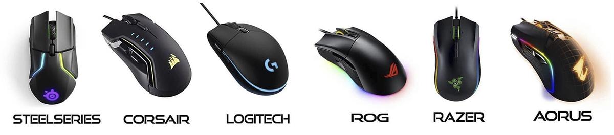 mejores marcas de raton para pc gamers youtubers y streamers