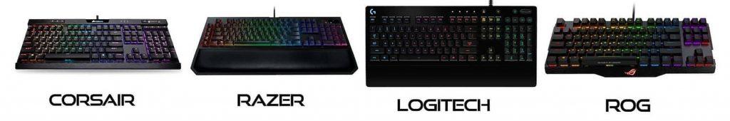 mejores teclados para streamers youtubers y gamers